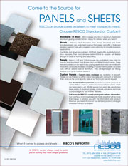 Panels and Sheets